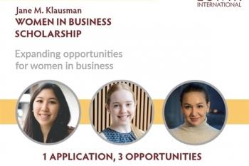 Jane M. Klausman - Women in Business Scholarship